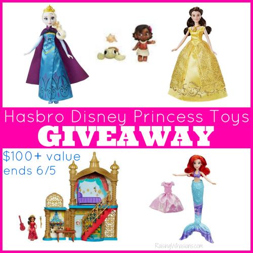 Disney princess toys giveaway hasbro
