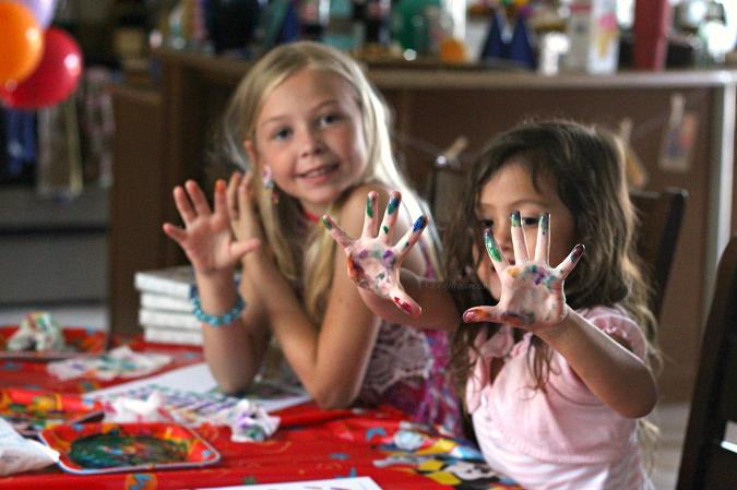 Pixar up kids craft
