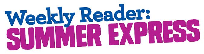 Weekly reader summer express logo