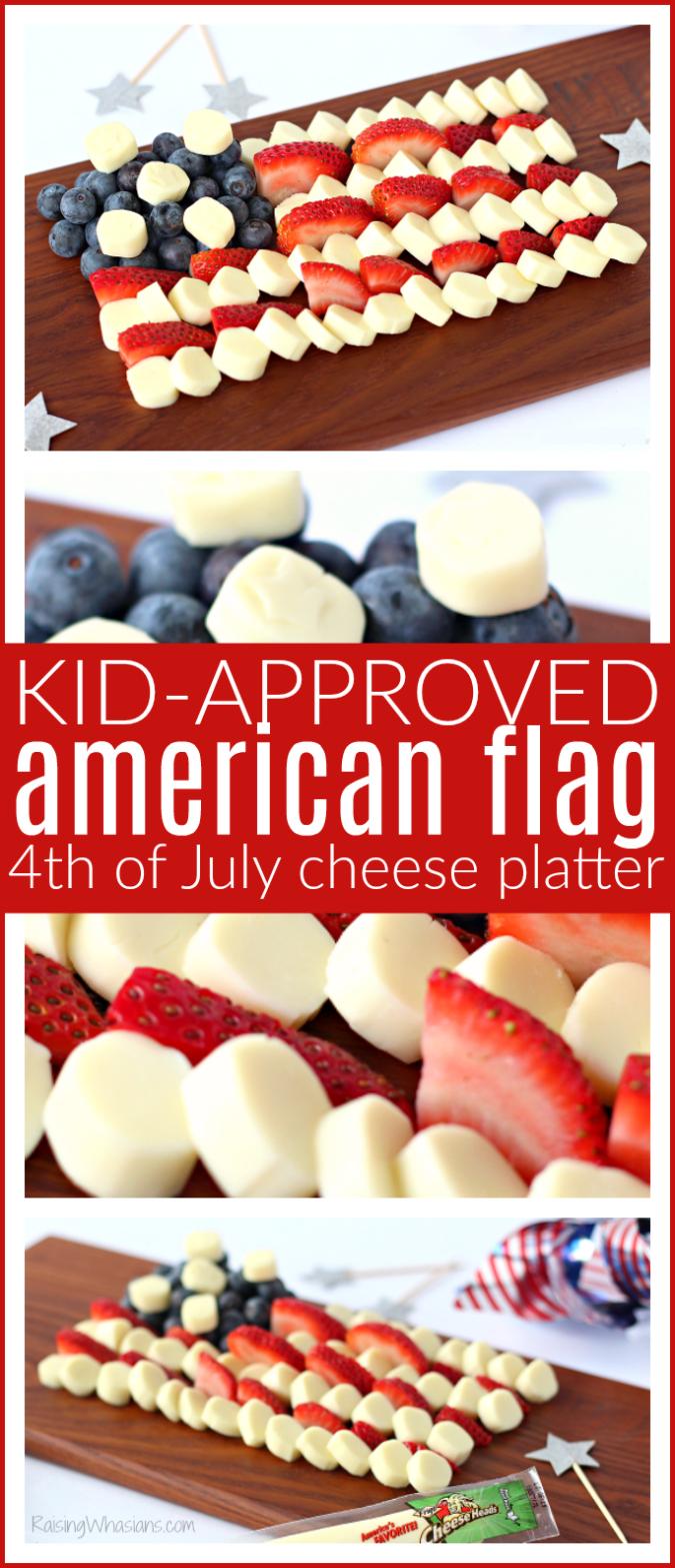 American flag cheese platter pinterest