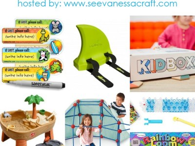 Kids summer fun prize pack
