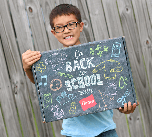 Don't forget these back-to-school essentials with hanes