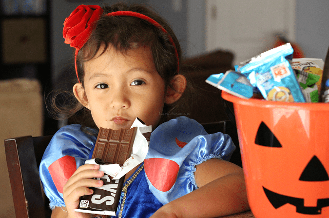Halloween candy tips