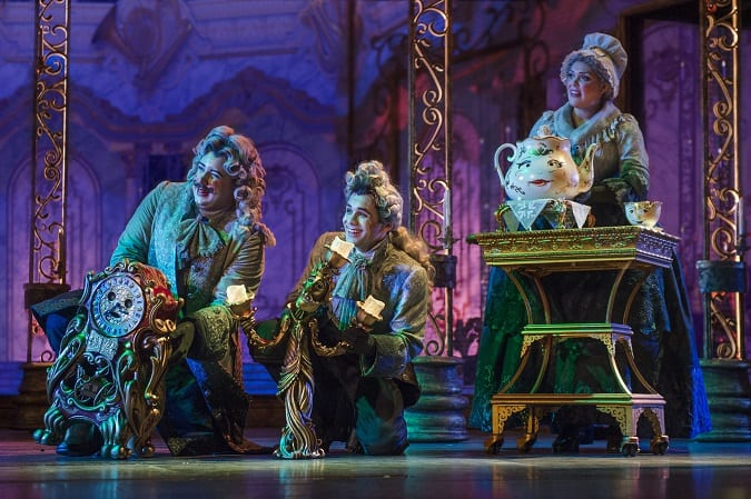 Beauty and the beast show safe for kids