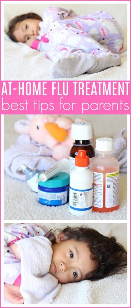 At home flu treatments for kids
