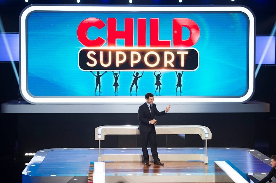 Child support game show review for families