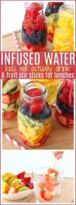 Infused water recipes for kids pinterest