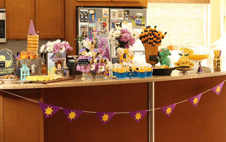 Rapunzel tangled party