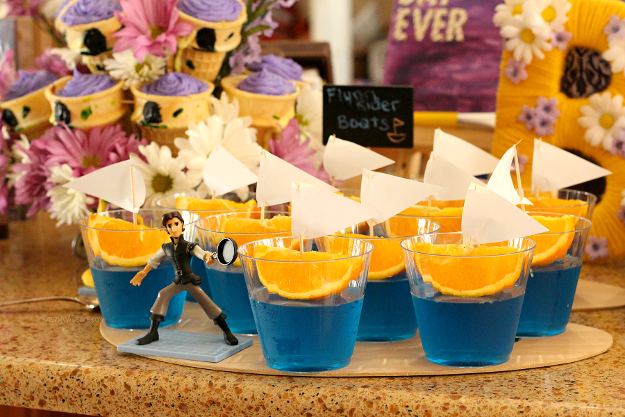 Tangled birthday party food ideas