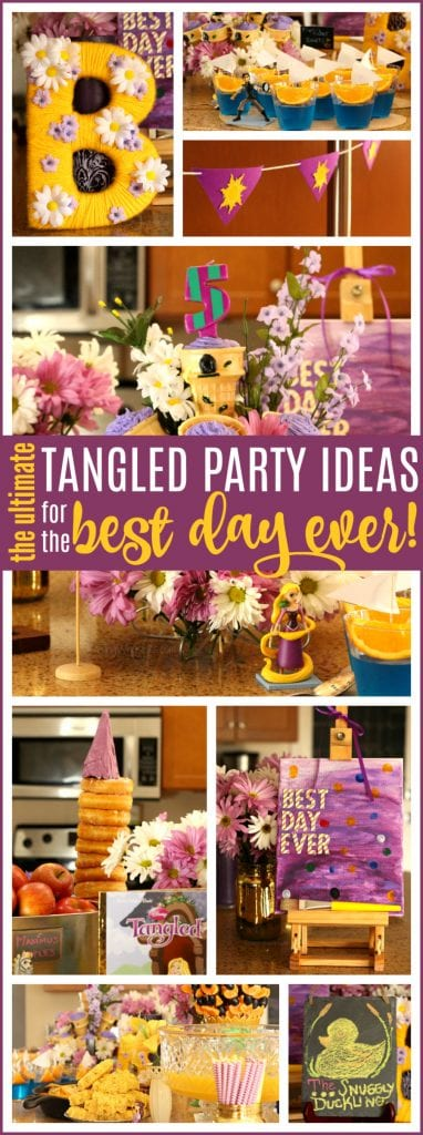 Tangled party ideas pinterest