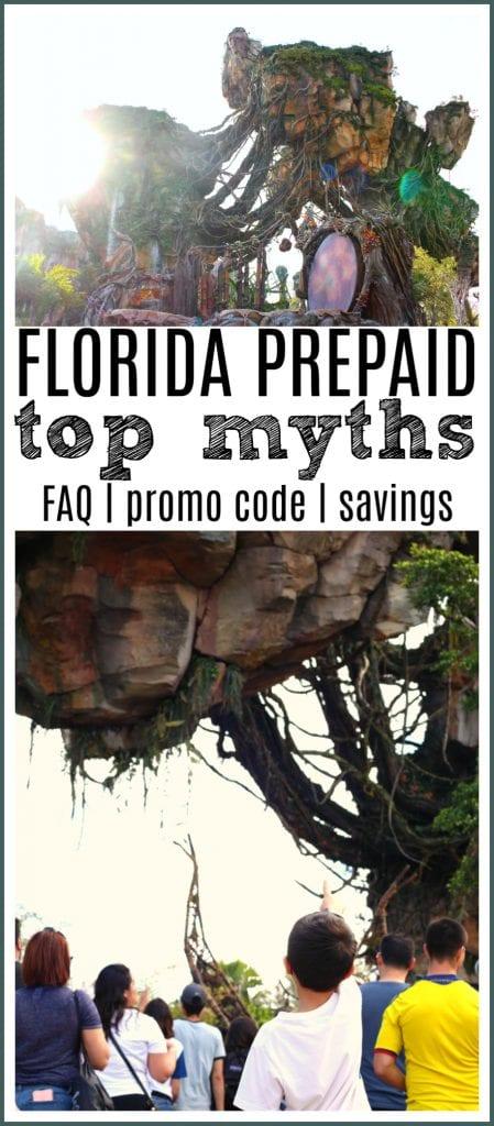 Florida prepaid myths pinterest