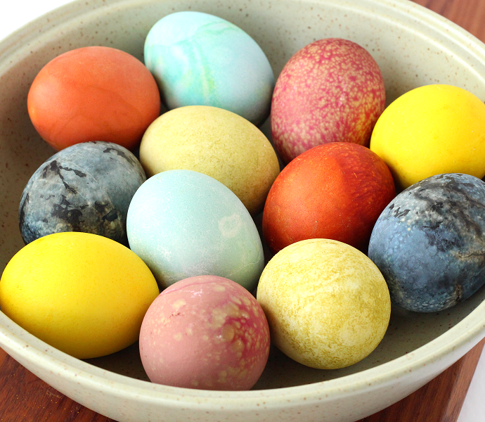 How to natural Easter egg dye
