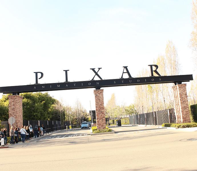 Pixar animation studios photo tour