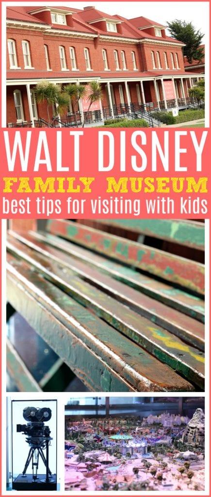Tips Walt Disney family museum