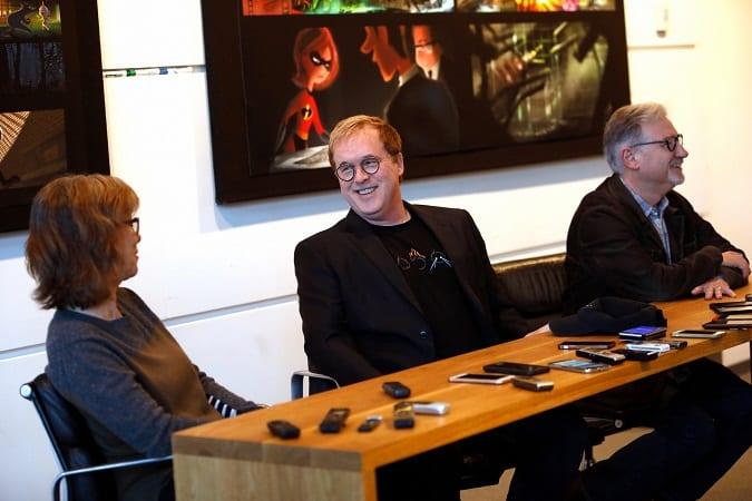 Pixar incredibles 2 interview