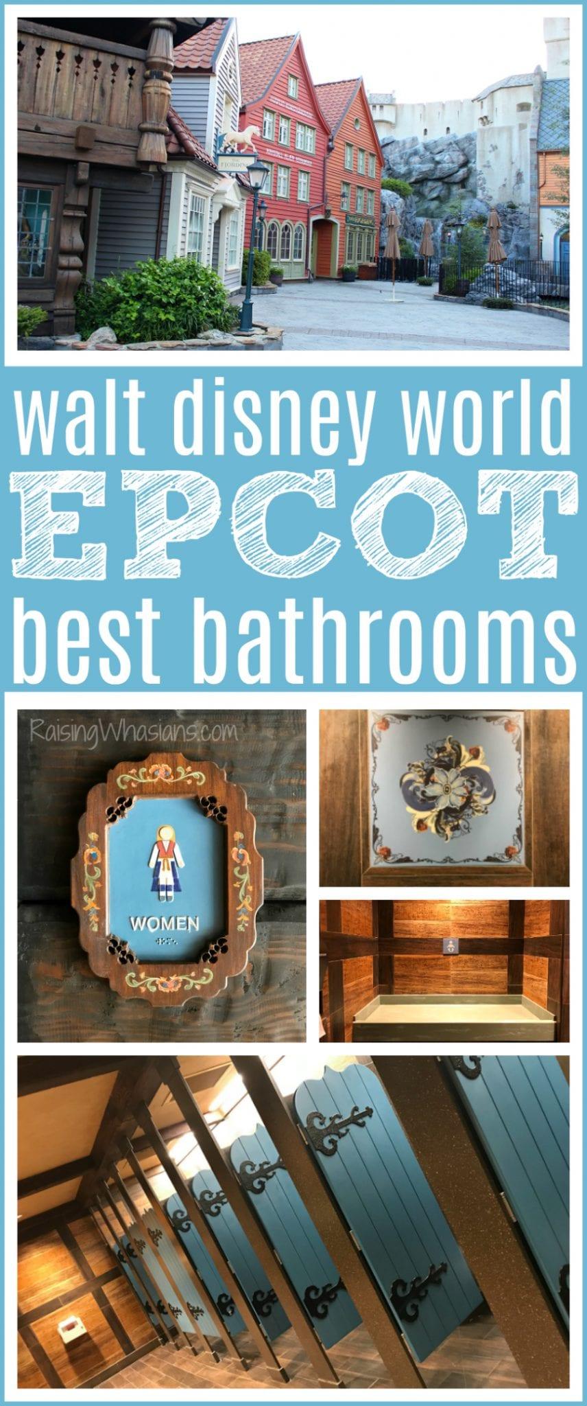 Walt Disney world best bathrooms
