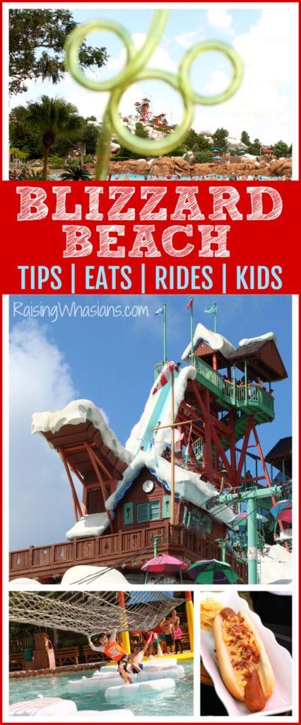 Blizzard beach tips eats
