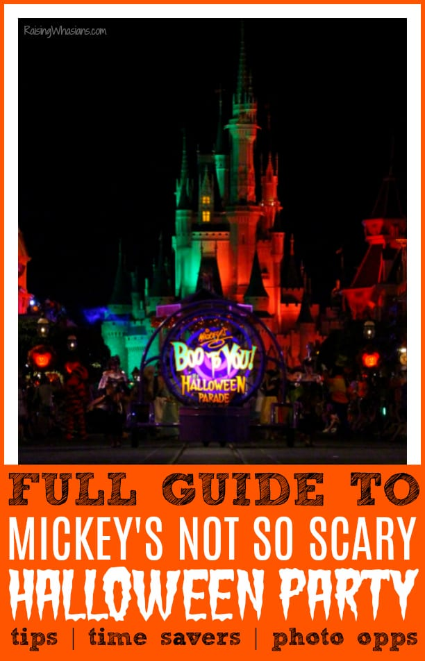 Guide to Mickey's not so scary