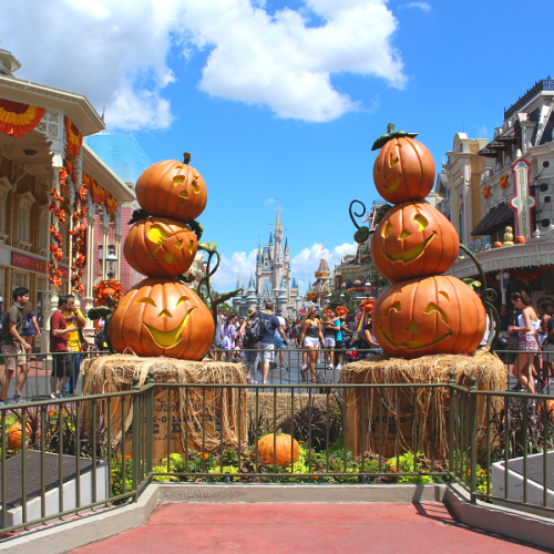 How to make the most of Mickey's not so scary Halloween party 2018