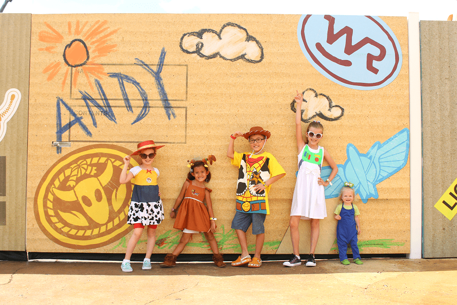 Easy toy story costume ideas