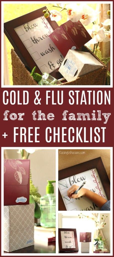 Free cold and flu checklist