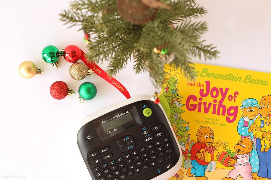 Giving Christmas tree diy
