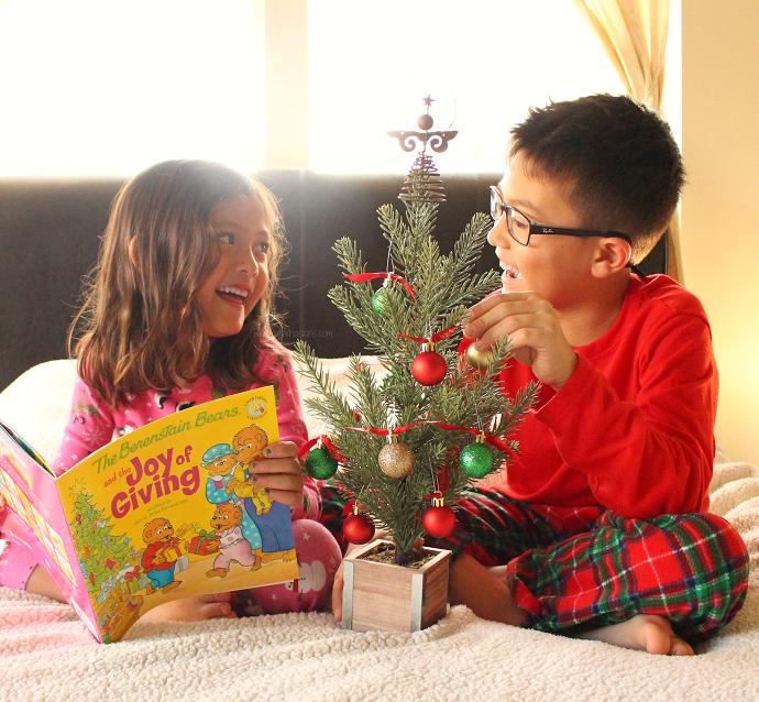 Joy of giving Christmas tree
