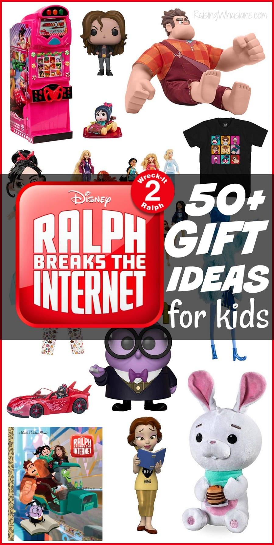 Ralph breaks the internet gift ideas