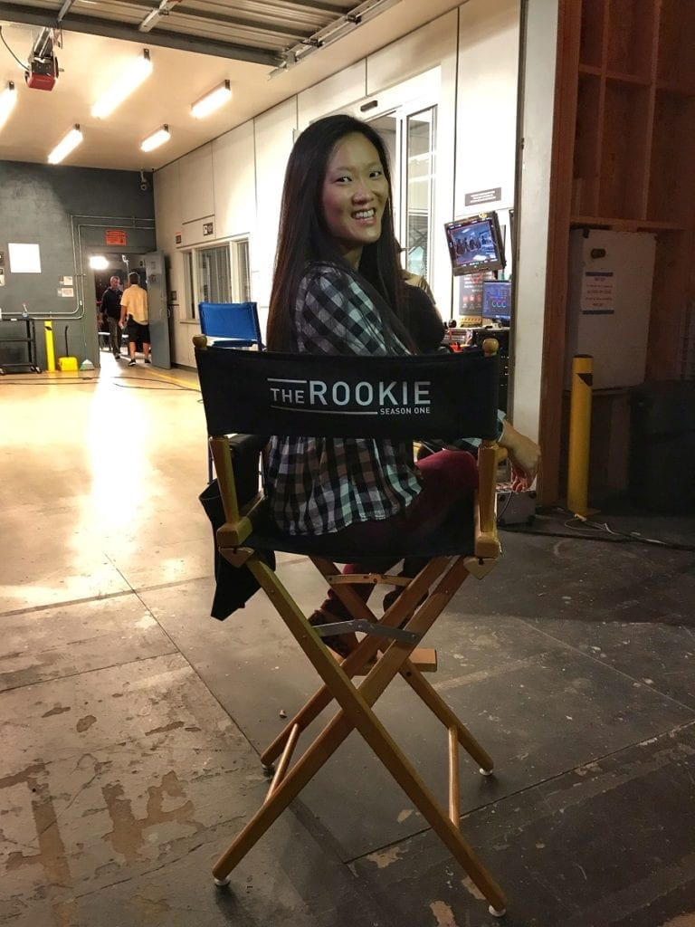 The rookie TV set tour