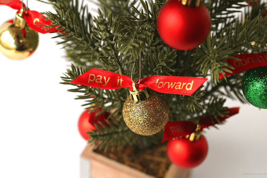 Ways for kids to give back at Christmas