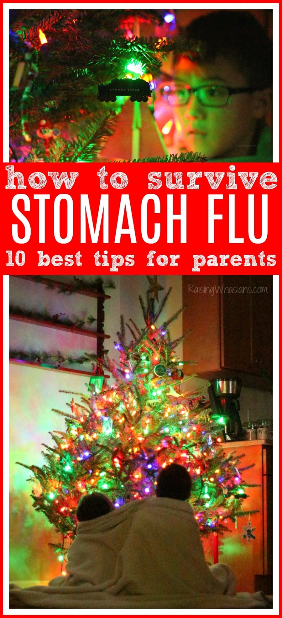 How to survive stomach flu