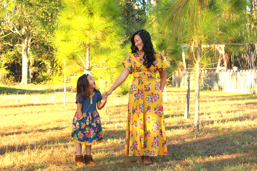 Joanna Gaines mommy and me style