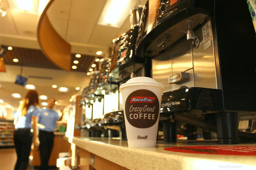 Free RaceTrac coffee offer
