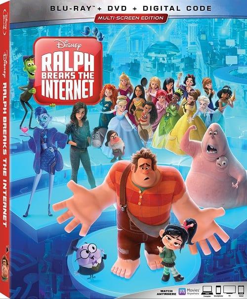 Ralph breaks the internet blu-ray release