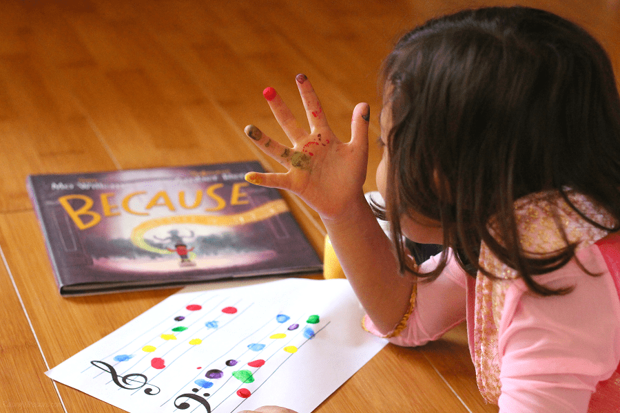 Because book craft idea
