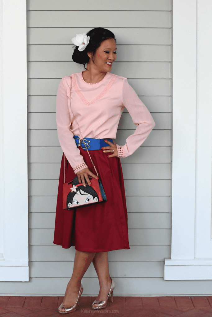 Mulan character couture makeover
