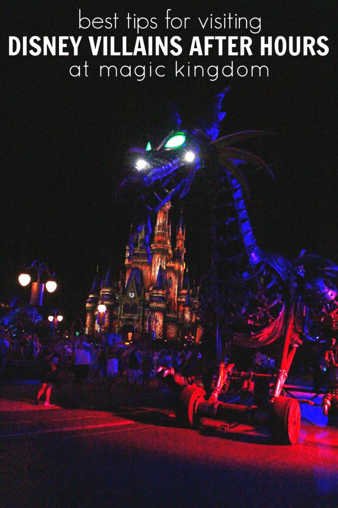 Disney villains after hours guide