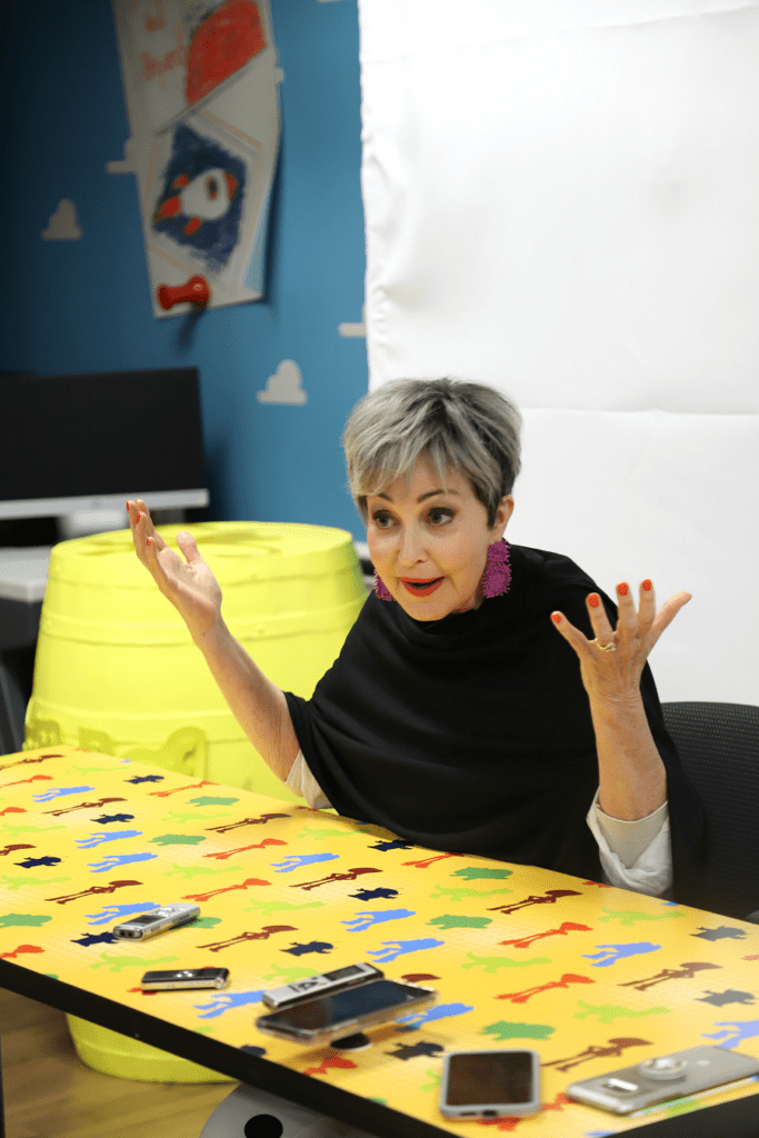 Exclusive Annie Potts interview toy story 4