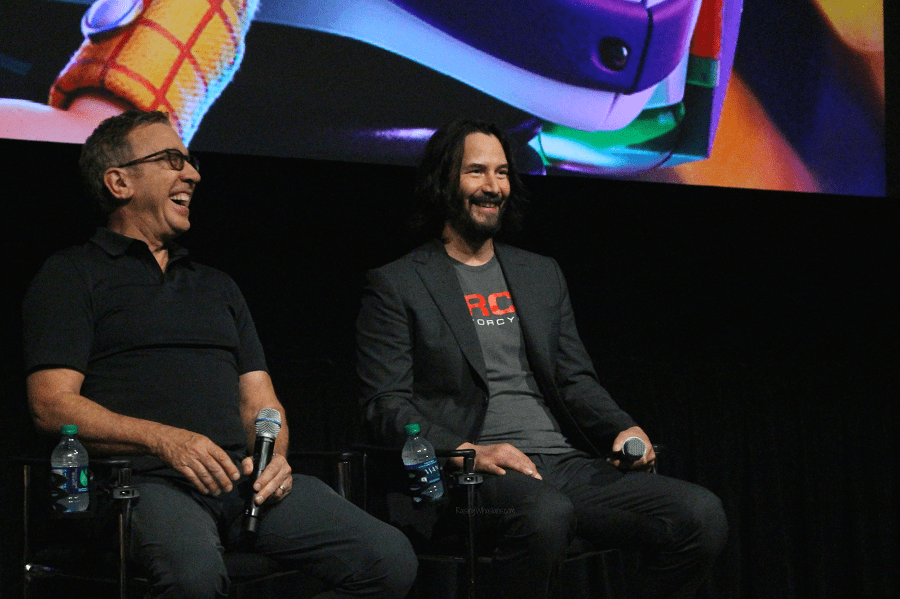 Keanu Reeves interview toy story 4