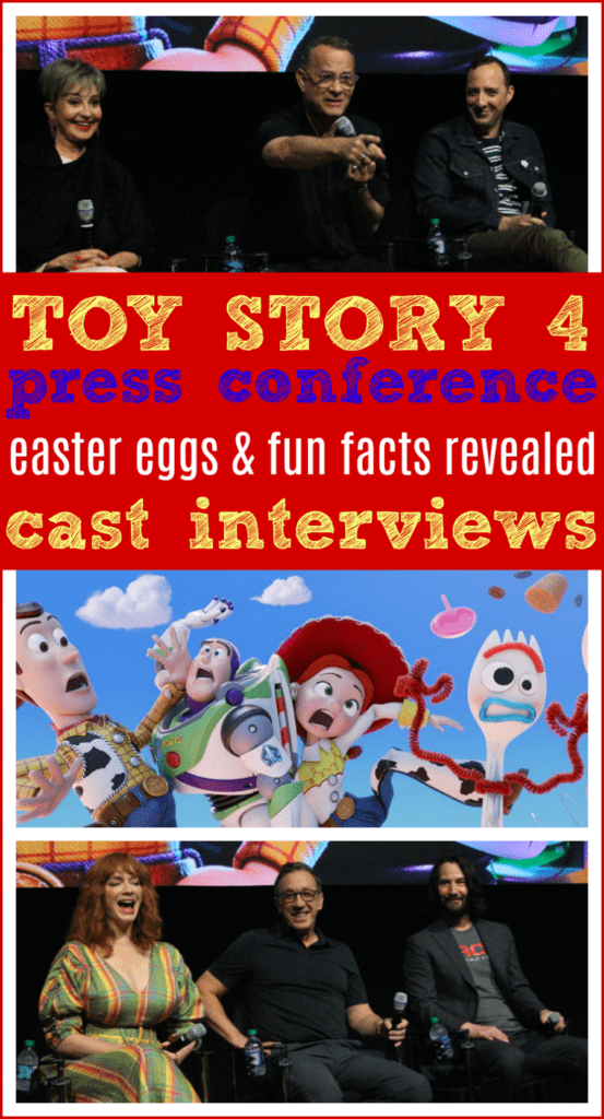 Toy story 4 press conference summary