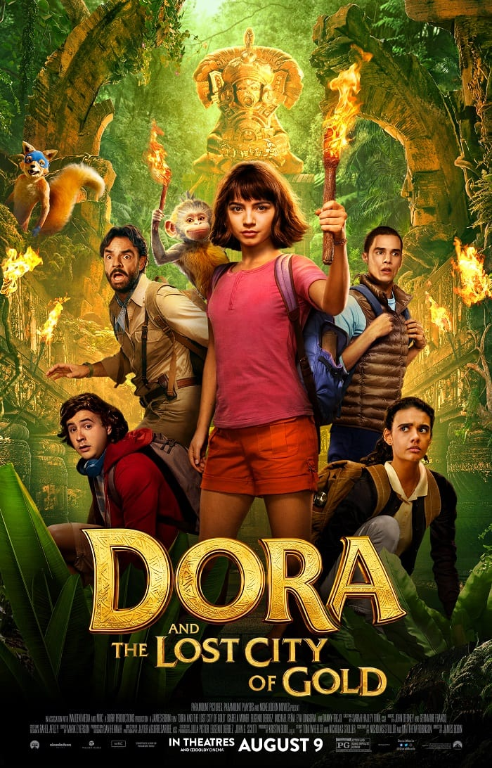 Dora and the lost city of gold movie review safe for kids