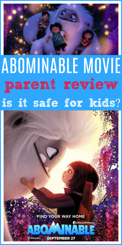 Abominable movie review for parents