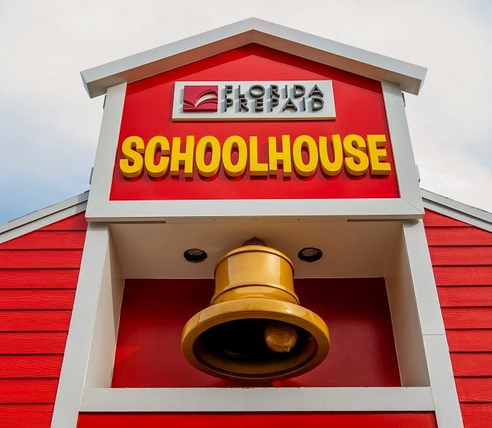 Florida prepaid schoolhouse now open