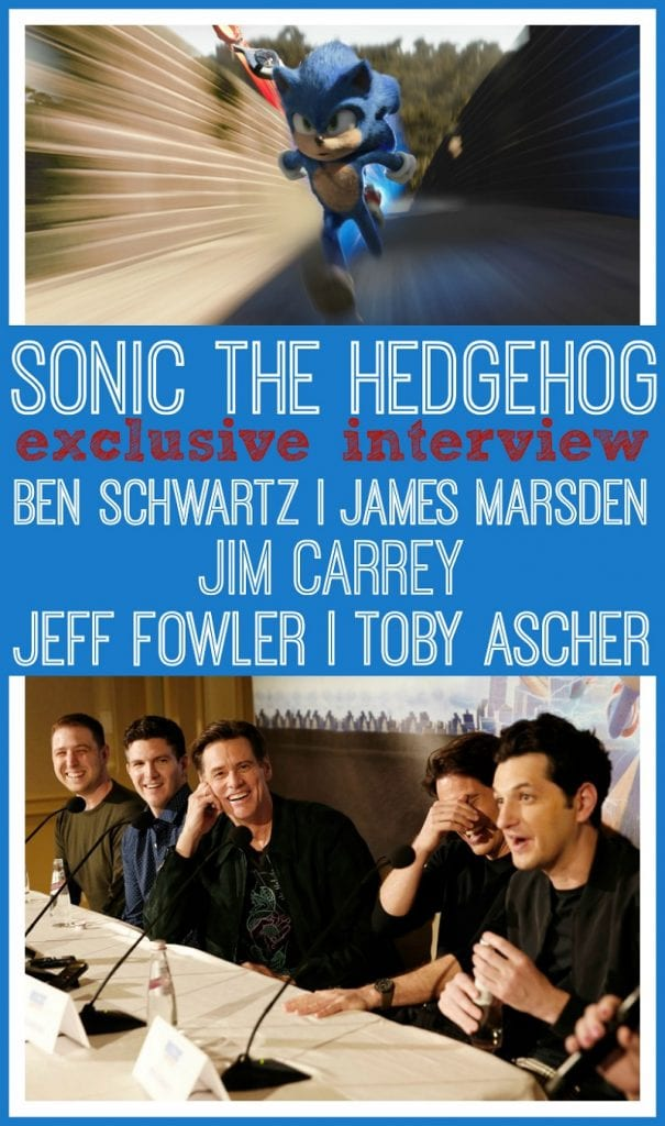 Jim Carrey interview sonic the hedgehog