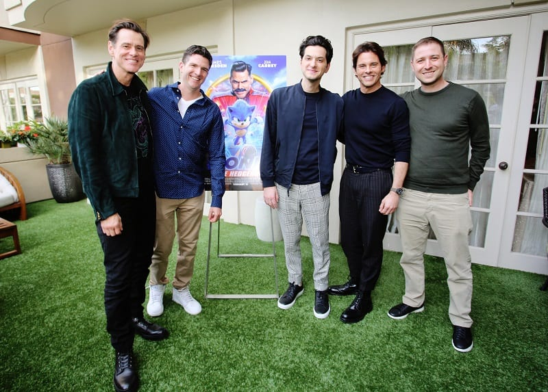 Sonic the hedgehog press day