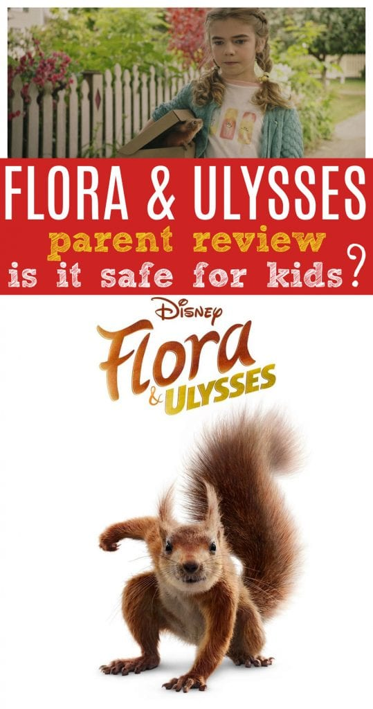 Is Flora and Ulysses movie ok for kids