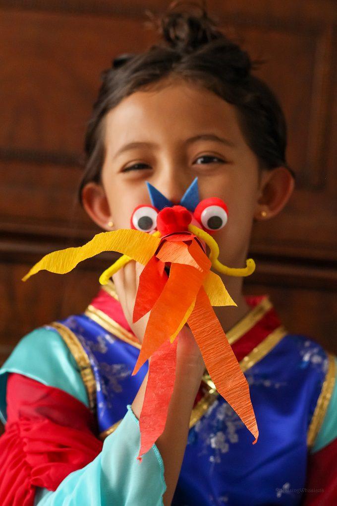 Mulan craft idea