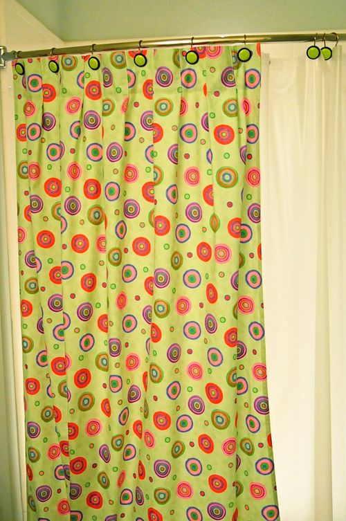 how to make your own shower curtains