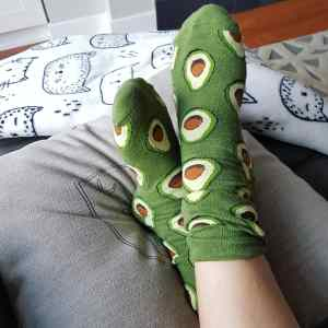 avocado-socks