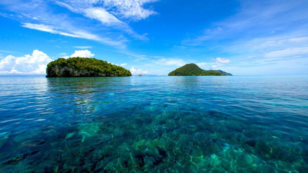 Dónde está Raja Ampat - reef